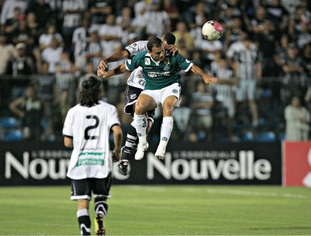 Ceará x Goiás, pela 3ª rodada do Brasileirão (Foto: Natinho Rodrigues/Ag. Diário)