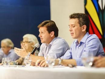 Prefeito do Recife, Geraldo Julio, divulgou balanço nesta quarta (Foto: Divulgação/Andréa Rêgo Barros/PCR)