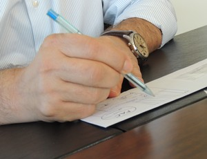 Nereu Martinelli Joinville presidente (Foto: João Lucas Cardoso)