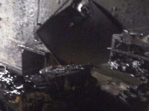 Equipamentos eletrônicos foram queimados (Foto: Divulgação / Arquivo Pessoal)