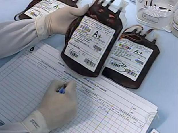 O hemonúcleo recebe doações de pessoas entre 16 e 67 anos (Foto: Reprodução / TV Tem)