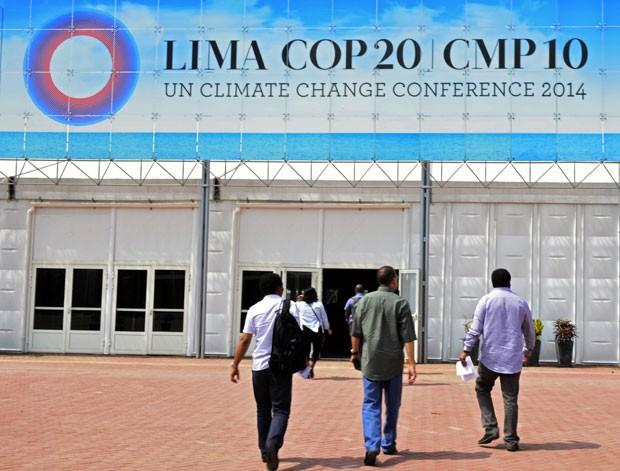 Lima, capital do Peru, vai sediar conferência climática da ONU a partir desta segunda-feira (1) até o dia 12 de dezembro (Foto: Cris Bouroncle/AFP)