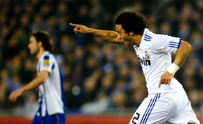 Marcelo Real Madrid Espanyol