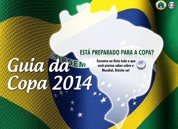 Veja o guia virtual sobre a Copa 2014 (Reprodução)