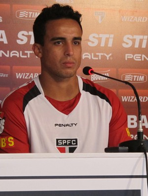 Jadson, meio-campista do São Paulo (Foto: Carlos Augusto Ferrari)