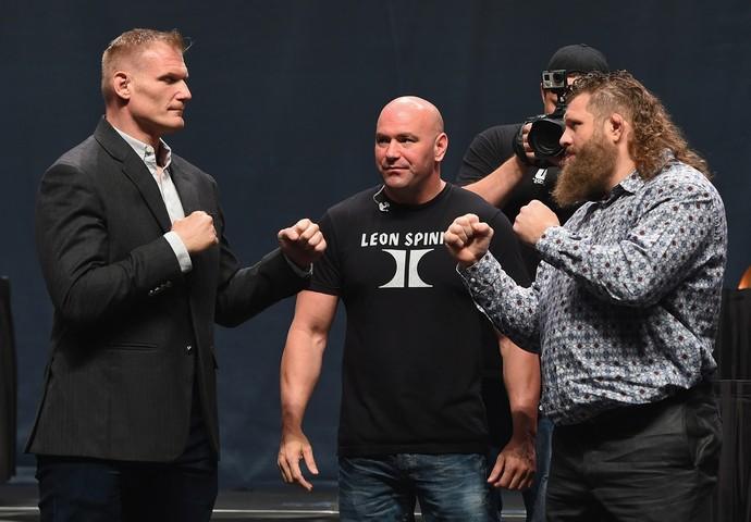 Roy Nelson Josh Barnett UFC Japão (Foto: Getty Images)