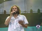 Gabriel O Pensador improvisa e lê poema no Planeta Atlântida RS