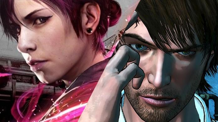 Em janeiro, Infamous: First Light (PS4) foi mais bem recebido que D4: Dark Dreams Dont Die (XOne) da Microsoft (Foto: Reprodução/Daily Motion e Xbox)