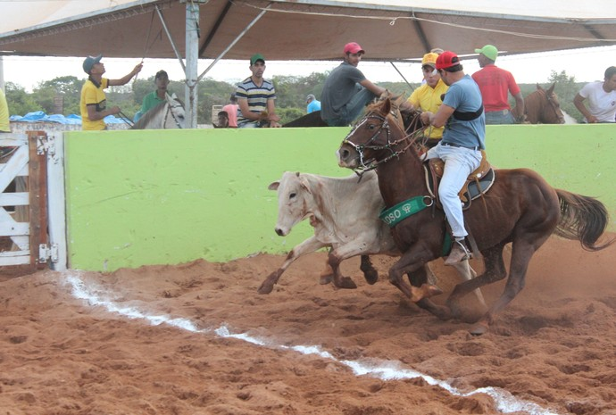 Vaquejada irá distribuir R$ 27 mil em prêmios, diz organizadores. (Foto: Valdivan Veloso/globoesporte.com)