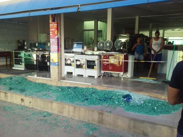 Moradores amanheceram apreensivos em Medina, no Vale do Jequitinhonha (Foto: Polícia Militar/Divulgação)