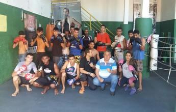 Alunos atendidos por projeto social de boxe disputam torneio em São Paulo