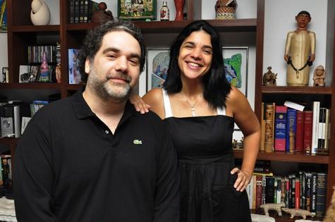 Filipe Miguez e Izabel de Oliveira (Foto: Estevam Avellar/TV Globo)
