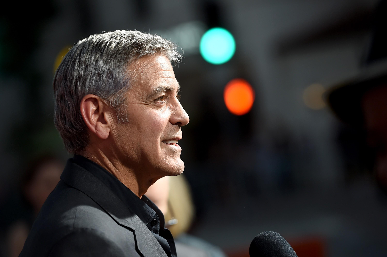 George Clooney durante o lançamento de seu novo filme, Suburbicon (Foto: Getty Images/Kevin Winter )