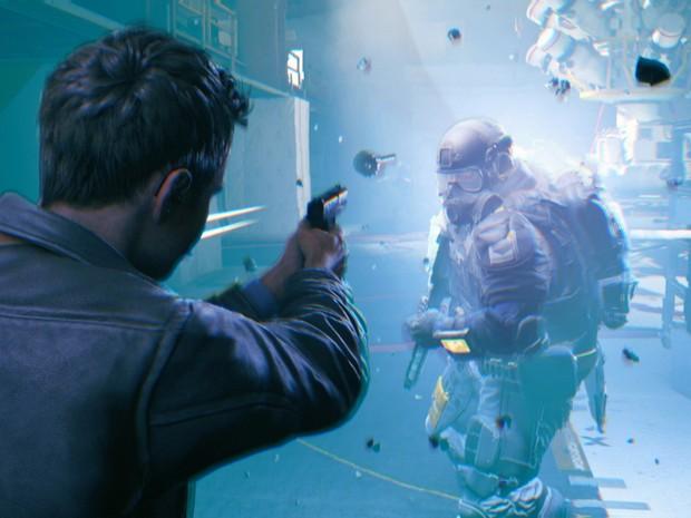 Apesar de estiloso e divertido, o combate de 'Quantum Break' é bem simples em comparação a outros games do gênero (Foto: Divulgação)
