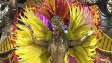 Tatiele Polyana estreia como musa no Carnaval de São Paulo (Arquivo pessoal)