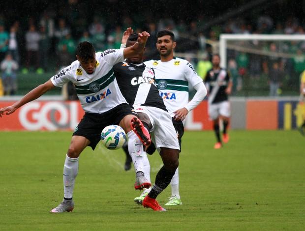 Juninho e Riascos, Coritiba x Vasco