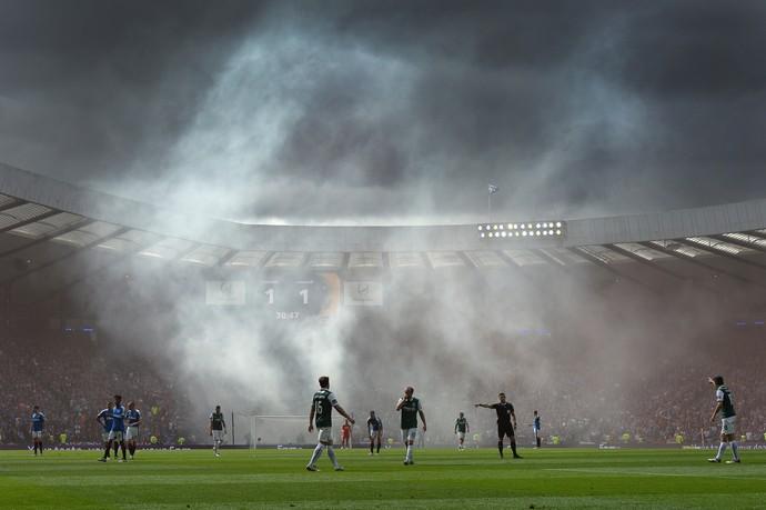 Hibernian x Rangers final da Copa da Escócia (Foto: Getty Images)