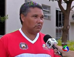 Jedson Zanesco treinador do Serra feminino (Foto: Divulgação/TVCA)