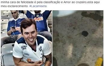 Torcedor quebra cadeira no Mineirão  e procura estádio para pagar por dano