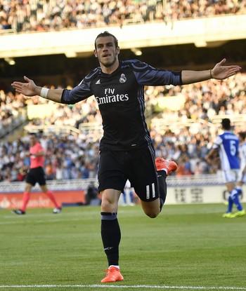 Gareth Bale, Real Sociedad x Real Madrid (Foto: AP Photo/Alvaro Barrientos)