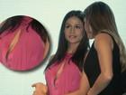 Nanda Costa dispensa lingerie e mostra intimidade em prêmio