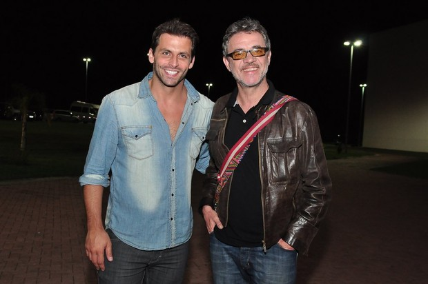 Henri Castelli e Jean Pierre Noher (Foto: Roberto Teixeira/EGO)