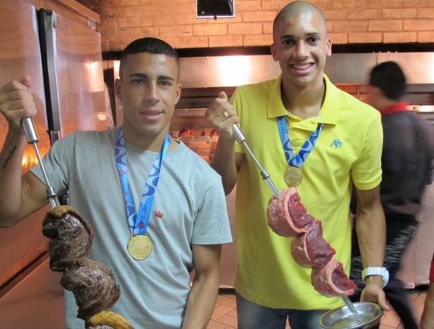 Gabriel e Dória Botafogo (Foto: Fabio Leme)