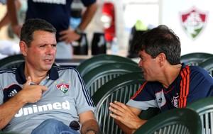 Ricado Tenório (VP de futebol) e Felipe Ximenes (diretor de futebol) fluminense (Foto: Nelson Perez / Fluminense FC)