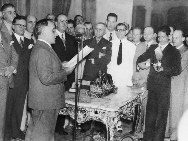 Imagem do documentário 'Imagens do Estado Novo 1937- 45', de Eduardo Escorel (Foto: Divulgação)