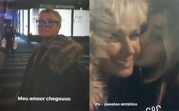 Sasha e Xuxa juntas em Nova York (Foto: Reprodução/Instagram)