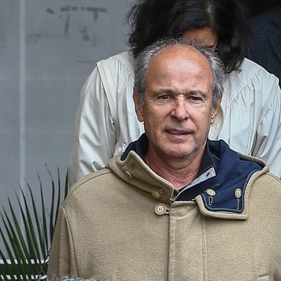 O empresário Otávio Marques de Azevedo, da construtora OAS, durante prisão em fase da operação Lava Jato em 20 de junho de 2015 (Foto: Geraldo Bubniak/Agência O Globo)