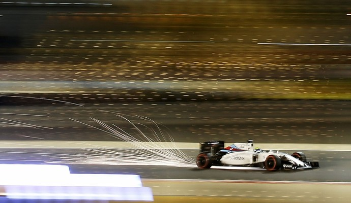 Felipe Massa no treino livre para o GP do Bahrein 2016 Fórmula 1 (Foto: Getty Images)