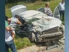 Acidente entre dois carros deixa 4 pessoas feridas na Rodovia SP-191