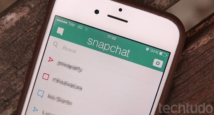 Como enviar snaps com vídeo no Snapchat (Foto: Lucas Mendes/TechTudo) (Foto: Como enviar snaps com vídeo no Snapchat (Foto: Lucas Mendes/TechTudo))