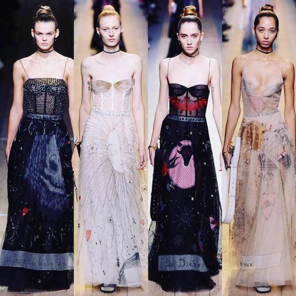 Dior Primavera/Verão 2017 (Foto: Reprodução/Instagram)
