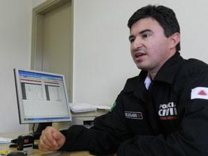 Helder Carneiro diz que a maioria dos casos tem ligação com tráfico de drogas (Foto: Felipe Santos/G1)