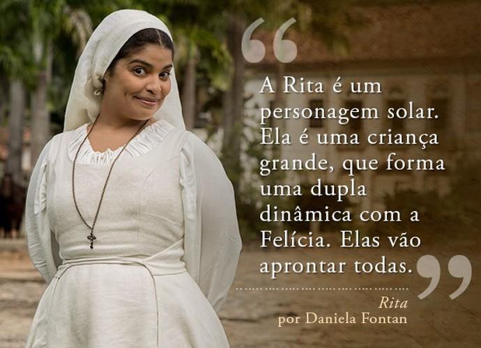 Rita (Daniela Fontan) (Foto: Gshow)