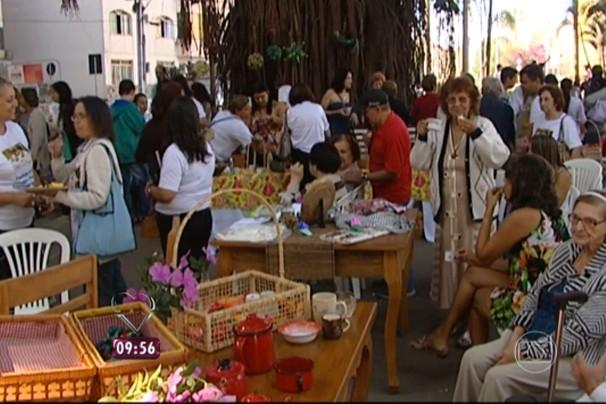 Café da manha de Divinópolis é destaque no 'Mais Você'  (Foto: Reprodução | Globo)
