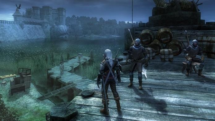 The Witcher práticamente dá vida ao herói Geralt de Rivia dos livros de Andrzej Sapkowski (Foto: Divulgação)