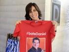 Glória Pires e Milena Toscano estão na torcida e pedem: 'Bate, Daniel!'