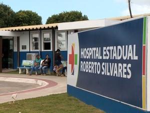 Isabela aguardava em hospital de São Mateus a transferência para UTI (Foto: Reprodução/ TV Gazeta)