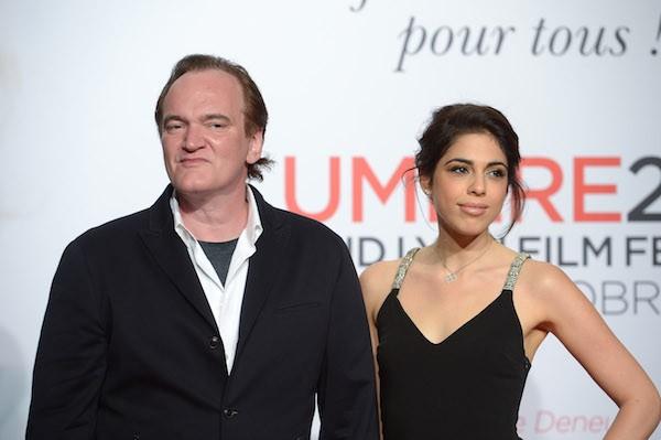 O cineasta Quentin Taratino e a cantora Daniella Pick (Foto: Getty Images)
