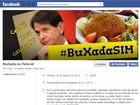 Grupo 'Buchada no Palácio' protesta contra 'farra do caviar' no Ceará
