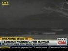 EUA cancelam alerta de tsunami para o Havaí após terremoto no Canadá
