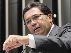 O senador Vital do Rêgo (PMDB-PB), durante discurso em plenário (Foto: Moreira Mariz/Agência Senado)