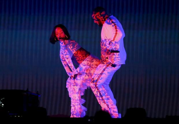 Rihanna e Drake (Foto: REUTERS/Stefan Wermuth)