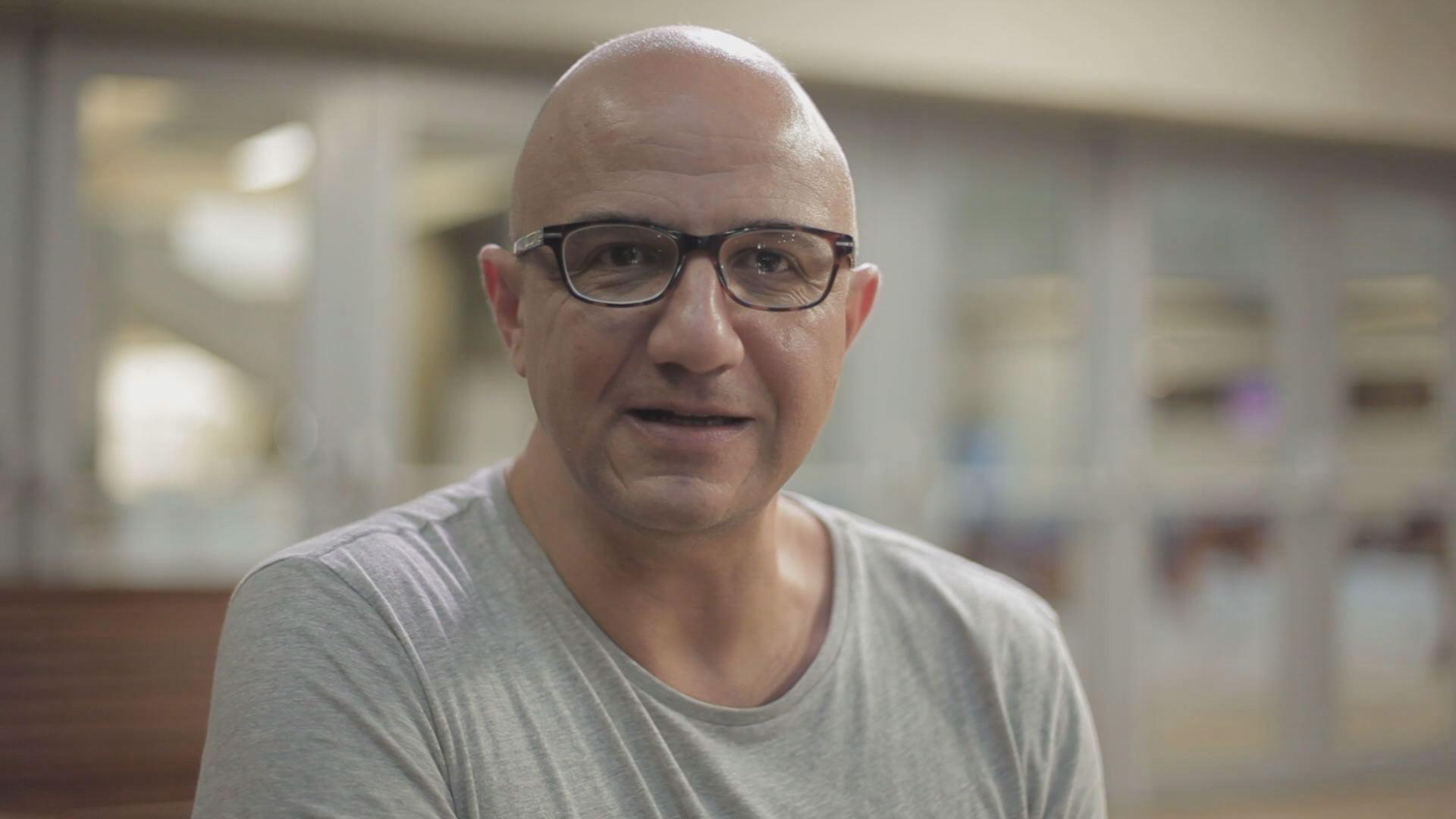 Cássio Starling no Programa Especial Curtas Metragens  (Foto: Reprodução/TV Tribuna)