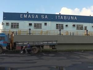 Emasa_Itabuna (Foto: Reprodução/TV Santa Cruz)