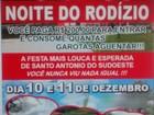 Ministério Público impede festa que prometia 'rodízio de mulheres', no PR