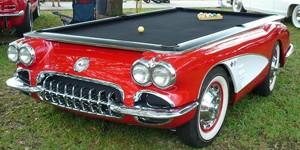 Mesa de bilhar Corvette (Foto: Divulgação)